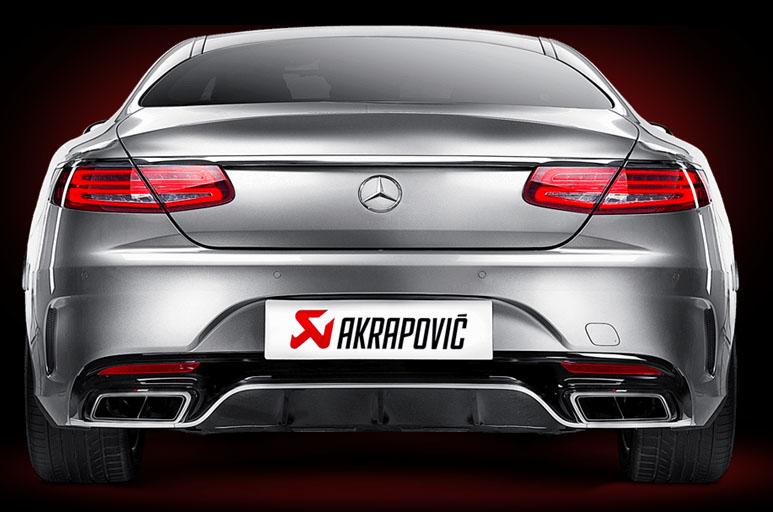 Titan-Abgasanlagen von Akrapovic für Mercedes AMG